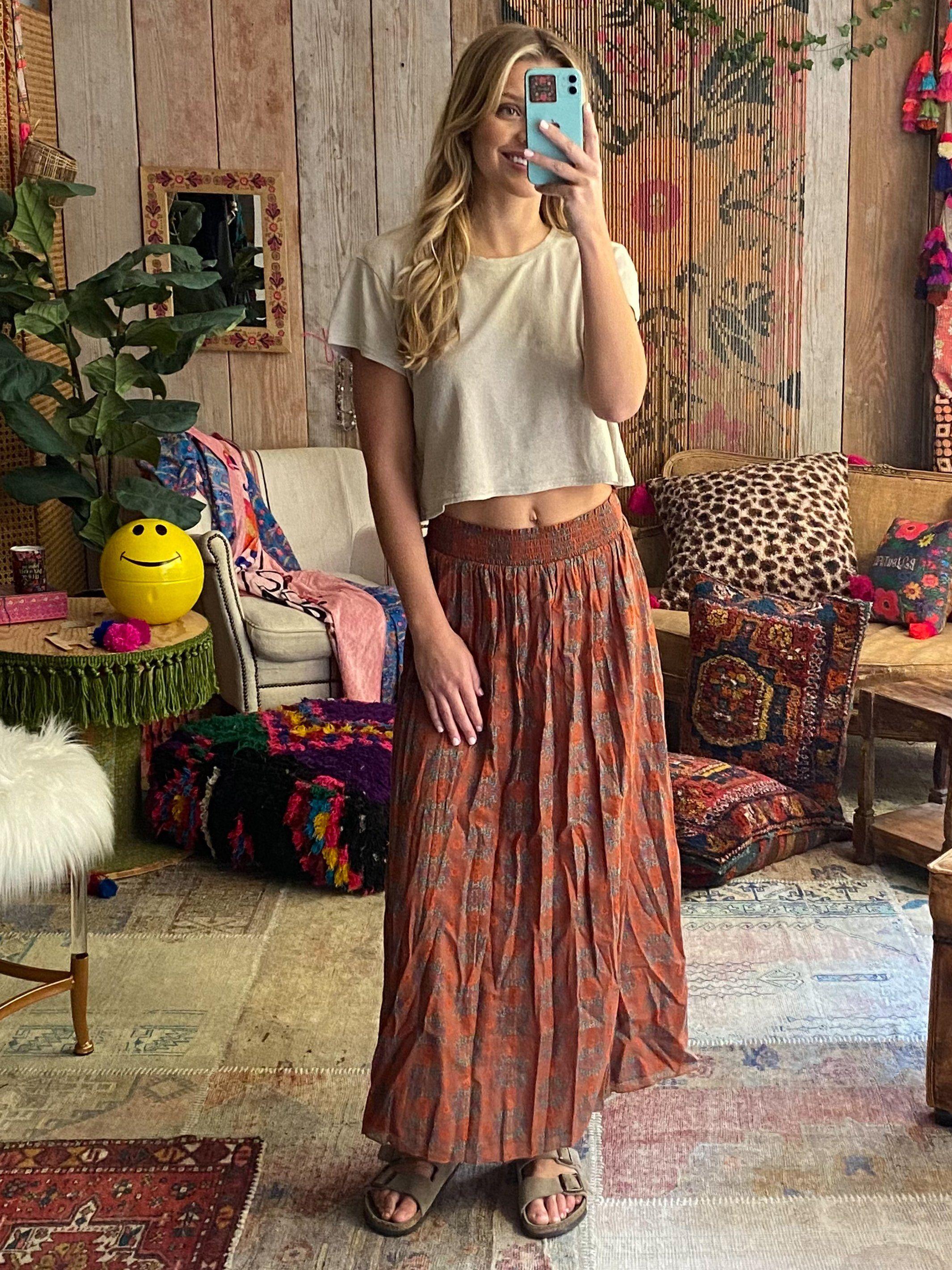 22+ Skirt In A Bag Mauve Floral   Mauve Floral / S/M