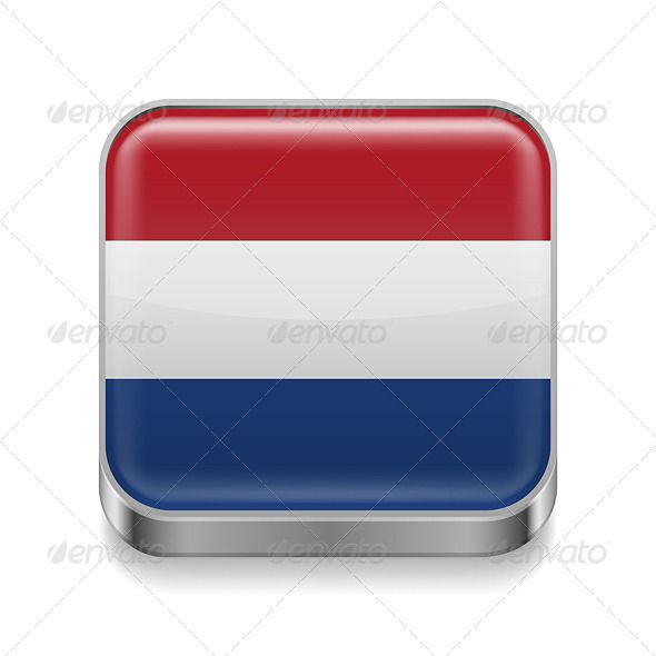 Metal Icon of Netherlands | Dutch flag, Flag colors, Icon