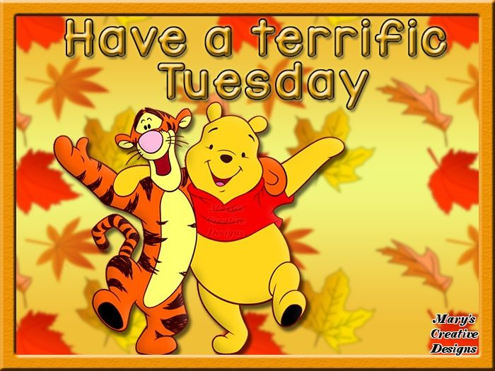 Charmant Have A Terrific Tuesday! Winnie The Pooh Tigger Tuesday Quote Hello Tuesday  Weekday Quotes