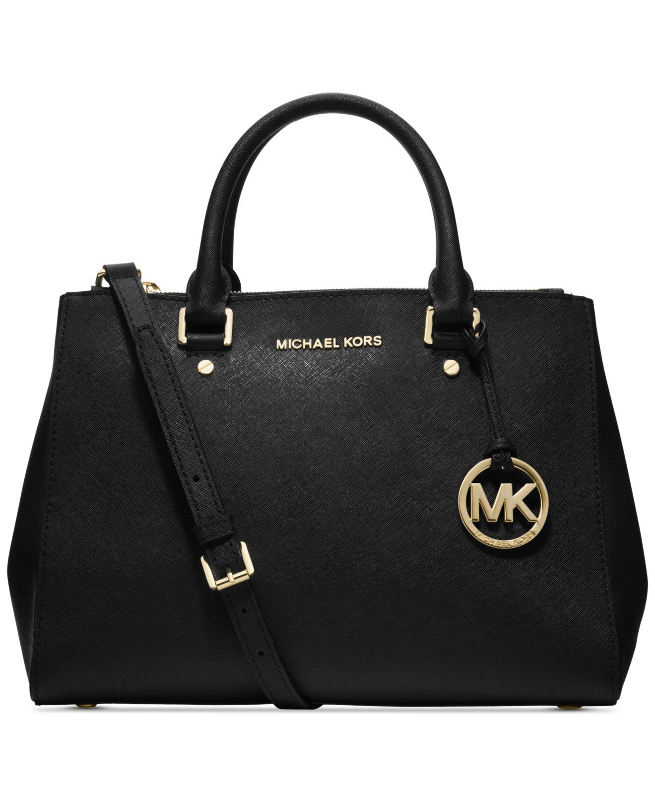MICHAEL Michael Kors Sutton Medium Satchel - Handbags \u0026 Accessories - Macy\u0027s  $328