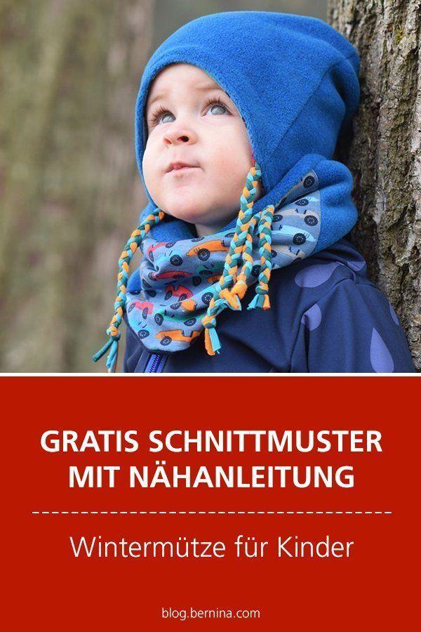 Gratis Schnittmuster mit Nähanleitung (Freebook): Wintermütze für Kinder - Schnittmuster Baby- und Kinderkleidung - #Baby #freEBook #für #Gratis #Kinder #KinderKleidung #mit #Nähanleitung #Schnittmuster #und #Wintermütze #crochetclothes