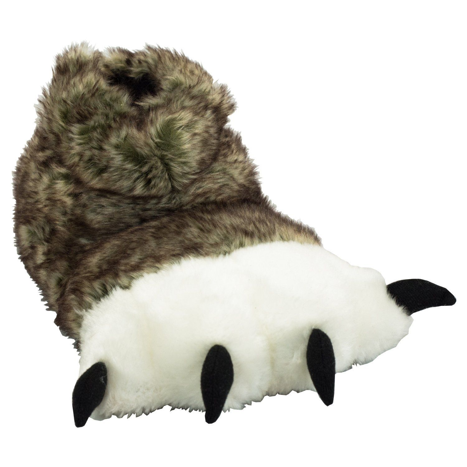 cd13a8253801 Amazon.com  Wolf Paw Kids and Adult Slippers by Lazy One  Shoes