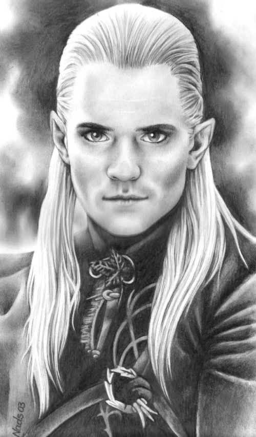Legolas by Nadine Bryant ~ LOTR | Lord of the Rings & The Hobbit ...