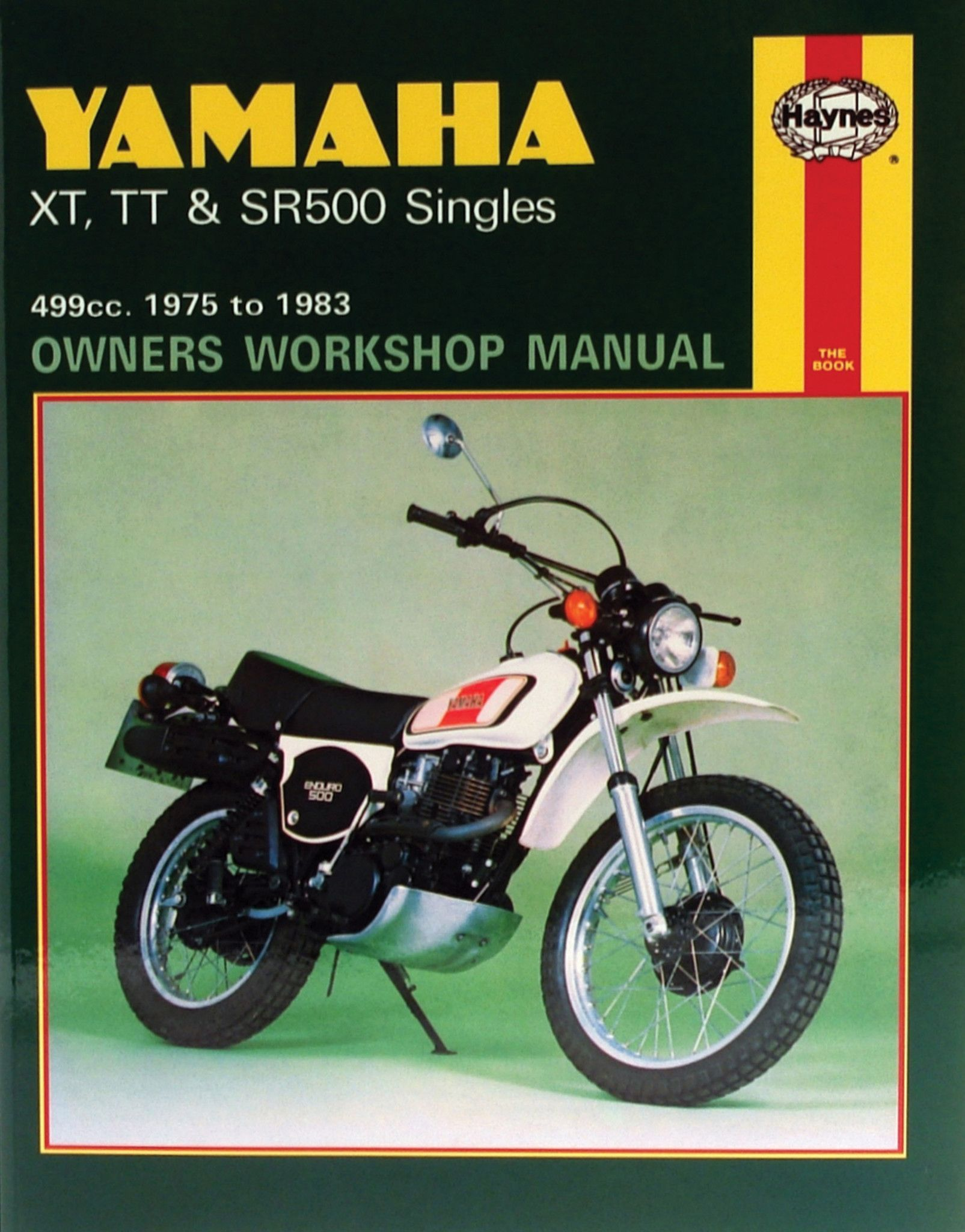Haynes M342 Repair Manual For 1975 81 Yamaha Xt500 Tt500 Sr500 Xt 500