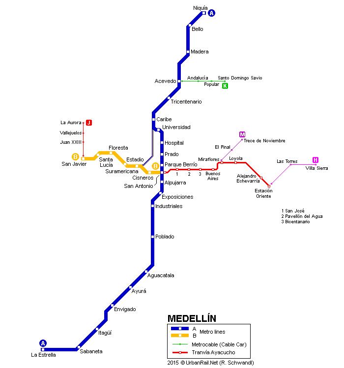 MEDELLIN Metro Page 4 SkyscraperCity Transports urbains et