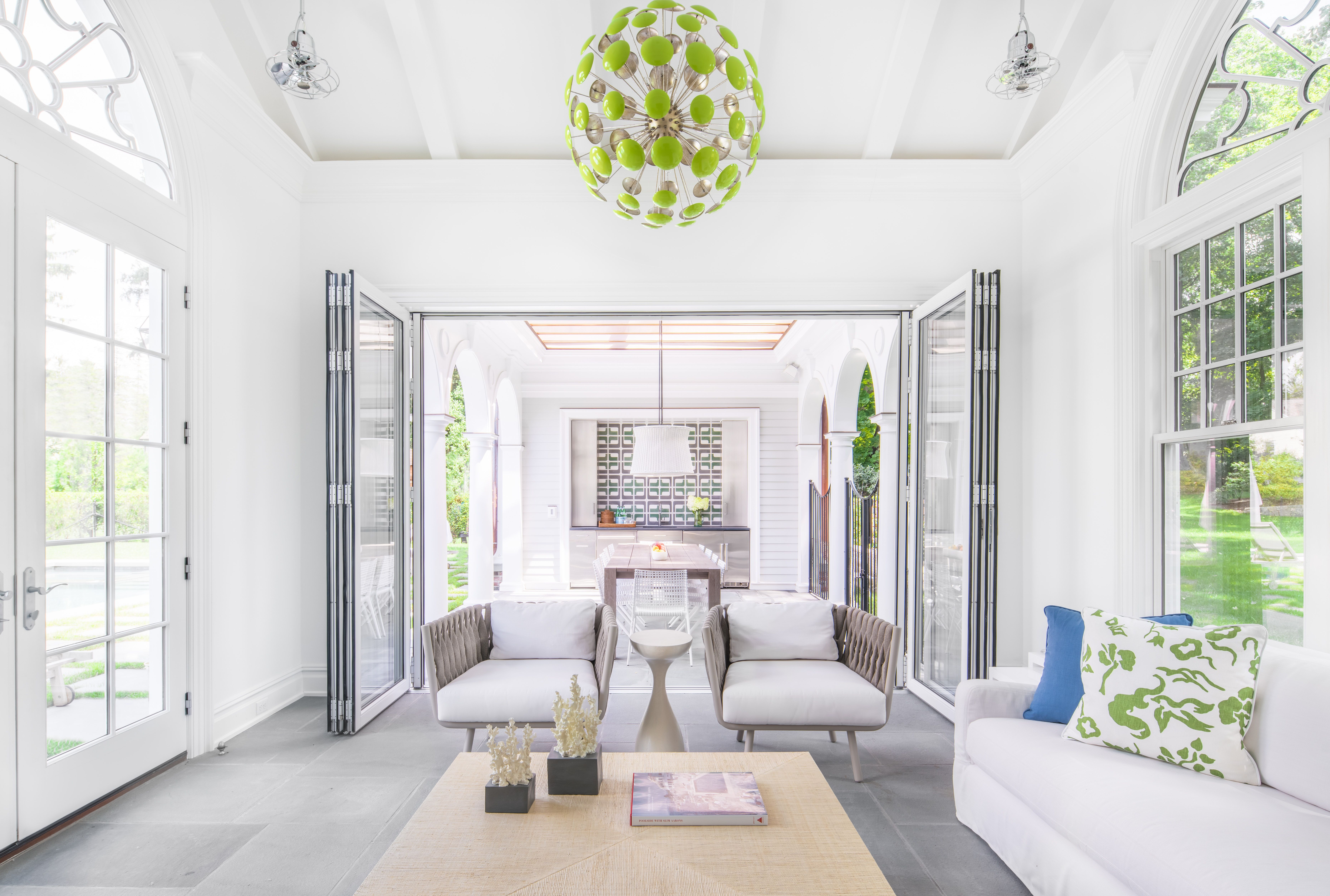 Indoor outdoor neutral upholstery fabulous light stacking doors mexican tile by alisberg parker architects lookbook dering hall