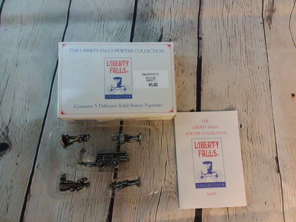 Liberty Falls Solid Pewter Figurines AH135