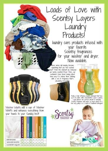 LOVE Layers Laundry products!