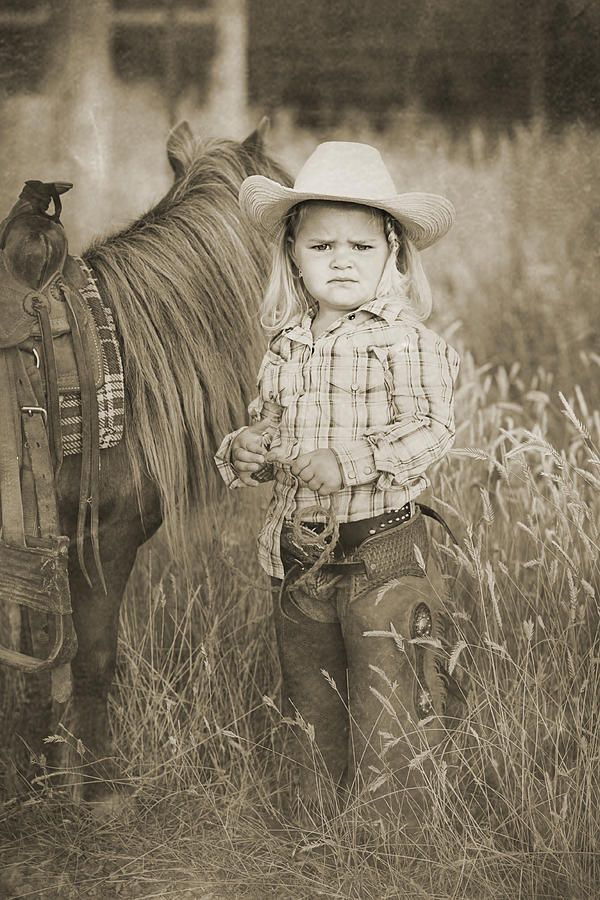 Image detail for -Buckaroo Cowgirl and Horse Digital Art - Buckaroo Cowgirl and Horse ...