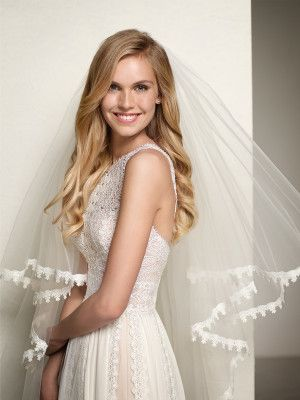 vestido de novia romántico sencillo - Colección 2018 Pronovias ...