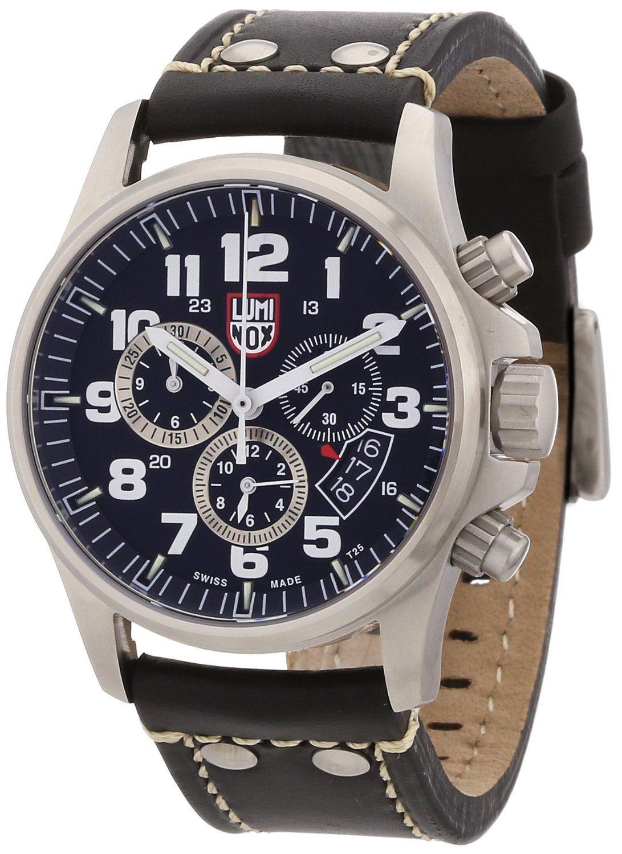 Luminox Men s 1848 Stainless-Steel Analog Bezel Watch  Watches  Amazon.com 036fd088f35