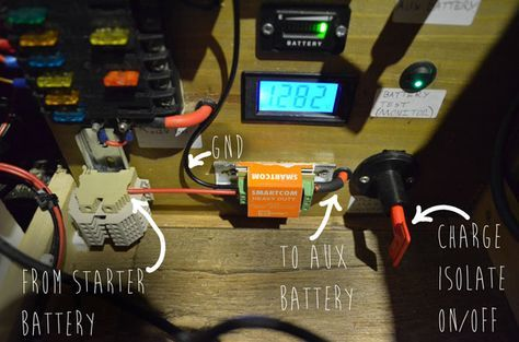 8e853a4c0d95fa7f1cb8e1aa71a00959 here is how i installed the electronics for my van includes