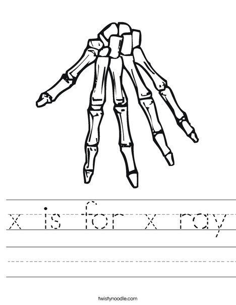 x is for x ray worksheet twisty noodle letter x worksheets writing practice handwriting. Black Bedroom Furniture Sets. Home Design Ideas