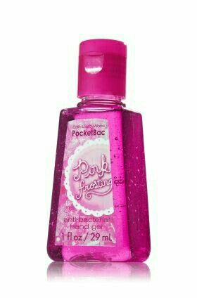 Pink Frosting Pocket Bac Bath Body Works Bath Body Bath N