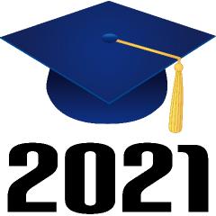 Graduation 2021   Graduation hat designs, Blue graduation, Graduation