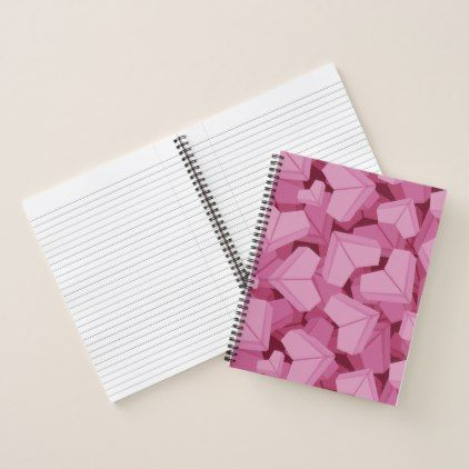 Heart Notebook - paper gifts presents gift idea customize paper - sample notebook paper
