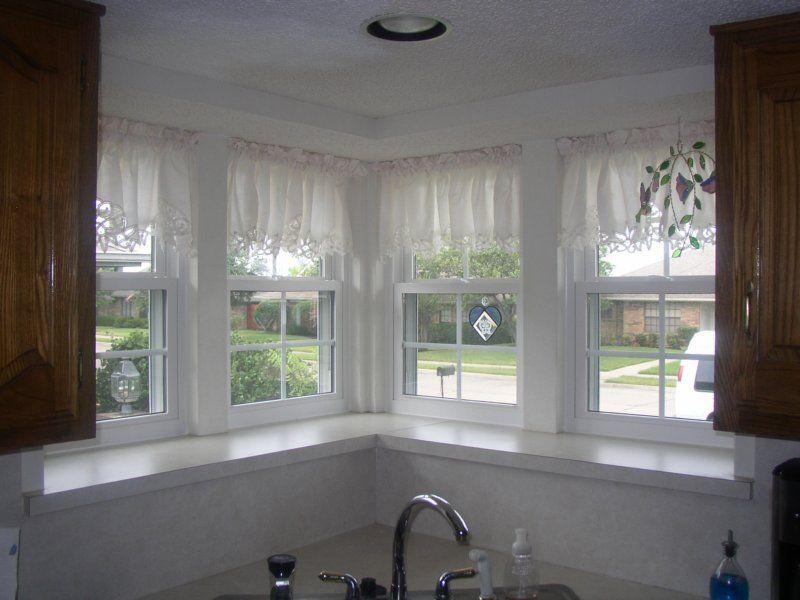 3 Windows Above Kitchen Sink