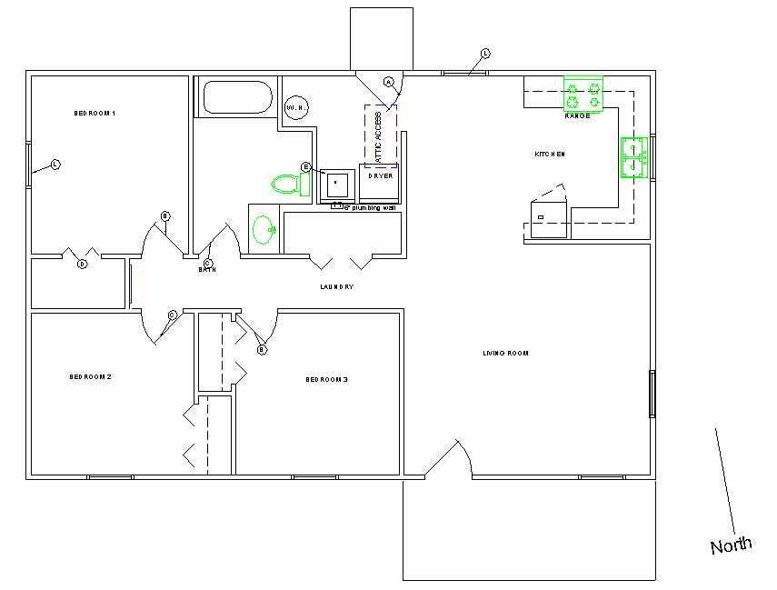 Example Plan Change Habitat For Humanity Houses Habitat For Humanity Simple House Plans