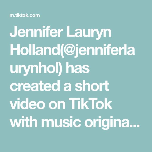 Jennifer Lauryn Holland Jenniferlaurynhol Has Created A Short Video On Tiktok With Music Original Sound Duet With Tiasamudaa Amazon Prime Video Kemp Music
