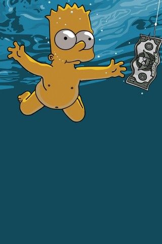 Bart Simpson IPhone Wallpaper