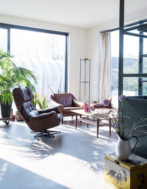 Un salon cosy, chaleureux et baigné de lumière. | Intérieur Déco ...