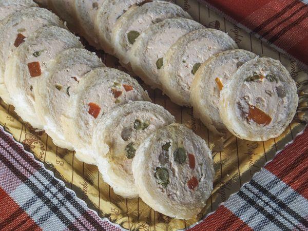 Buffet bambini ~ Filone di pane ripieno finger foods and food