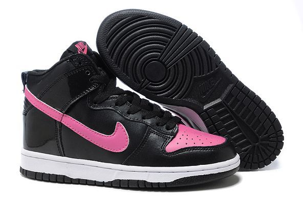 timeless design 09253 529fa £85.00 Nike Dunk SB High Womens Black Purple