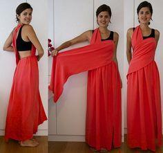 Como hacer vestidos de fiesta en casa