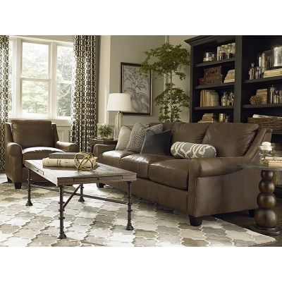 Bassett 3101-82L Ellery Great Room Sofa available at Hickory Park Furniture Galleries