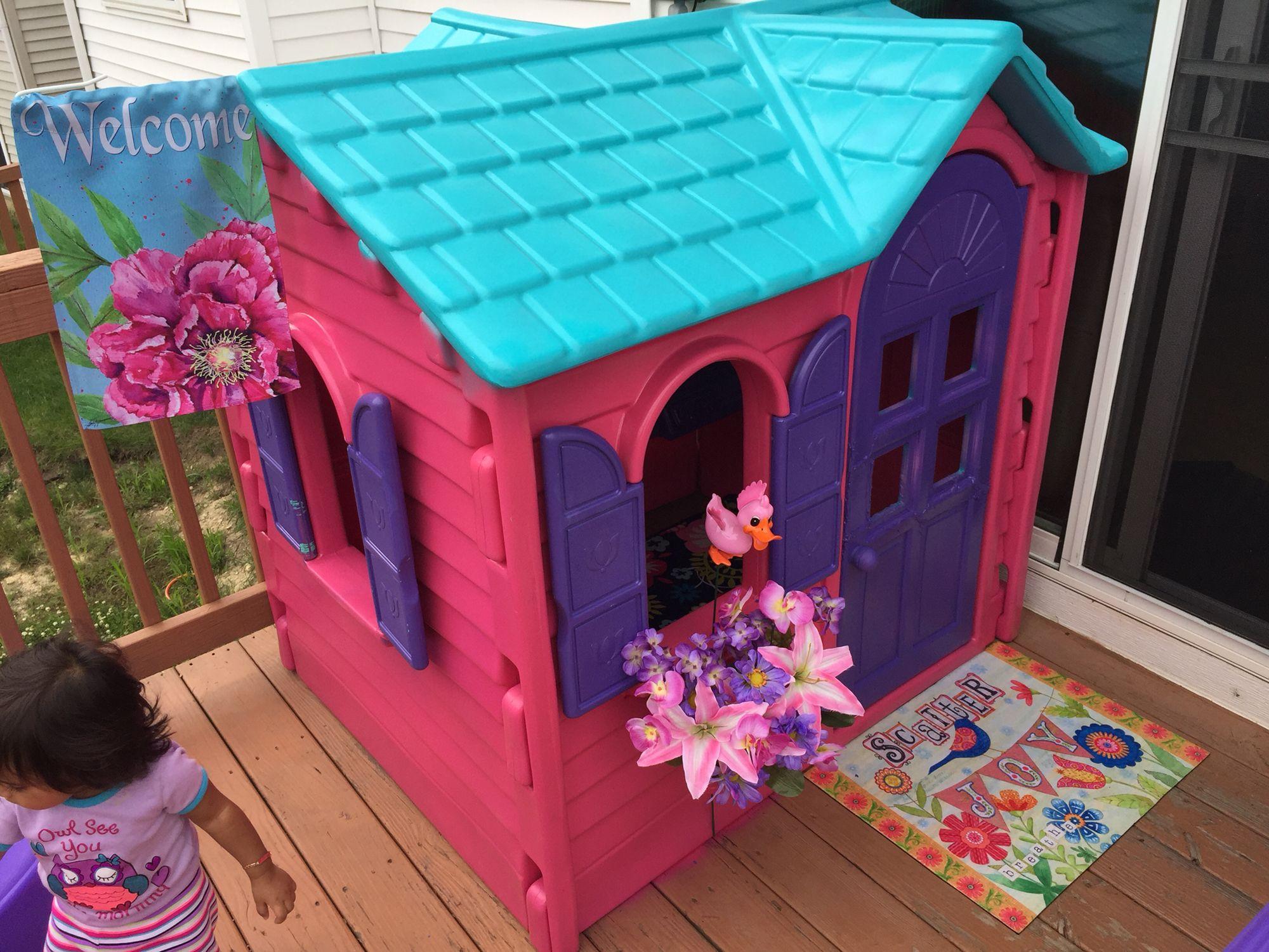 Little Tykes House DIY
