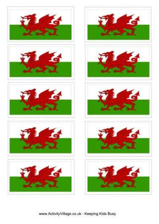 Welsh Flag Printable free printablesflags, colouring pages