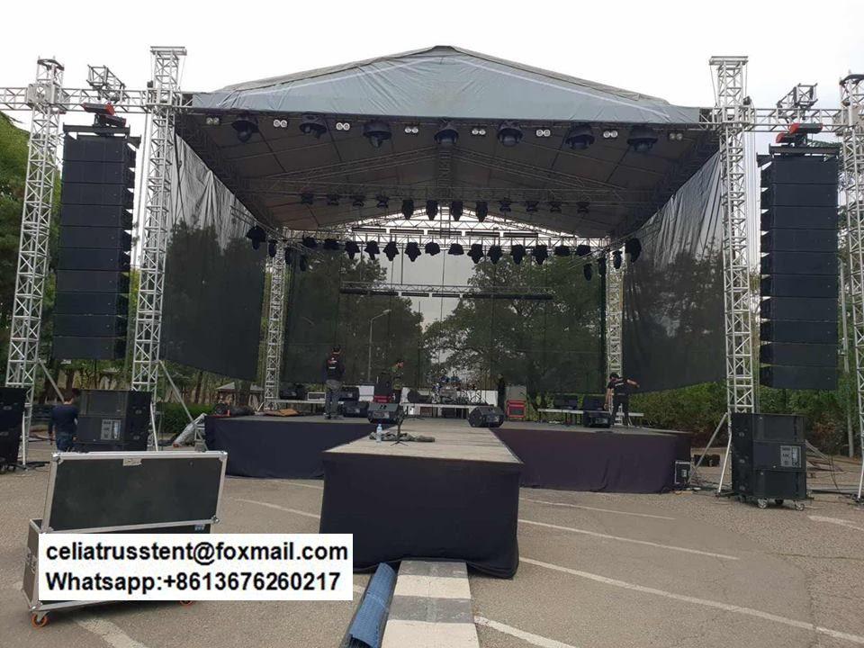 Concert Stage Roof Truss Structure Design Interior Desain Interior Desain