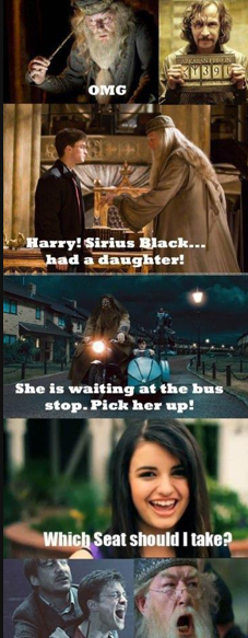 Bahahaha Get It Sirius Black And Rebecca Black D Lol Black Funny Pictures Harry Potter Funny Harry Potter Memes