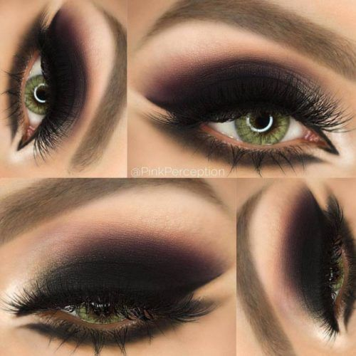 69a0e47d4187 36 Most Attractive Makeup Ideas for Dark Green Eyes