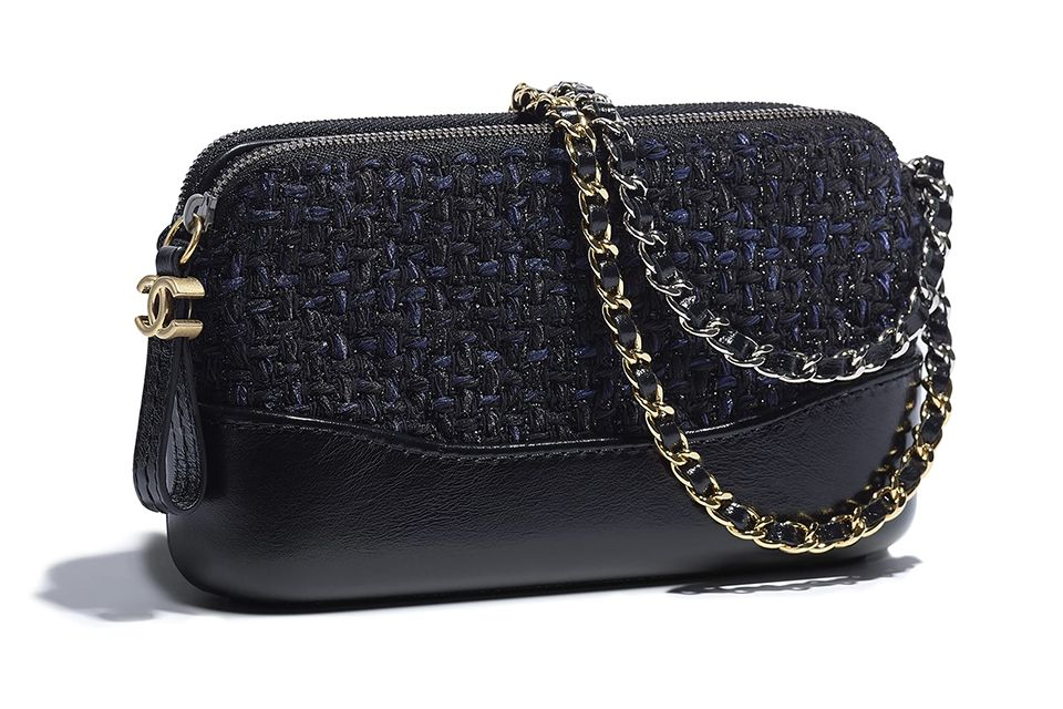 e4cb2def28c90d Chanel Tweed Gabrielle Clutch With Chain | bag 2 | Chanel, Bags ve ...