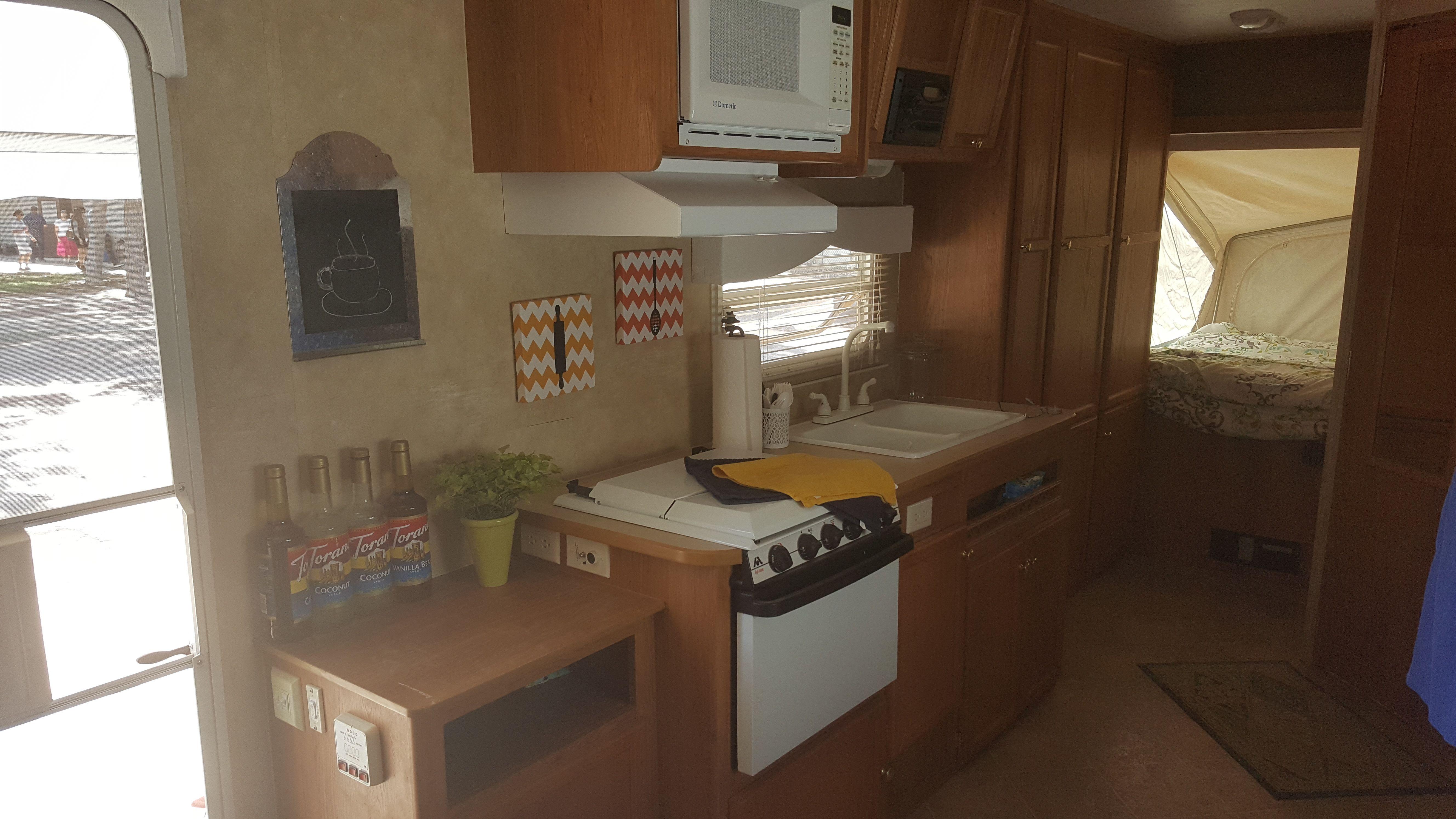 Jayco Hybrid trailer Camper decor | Camper decor, Decor ...