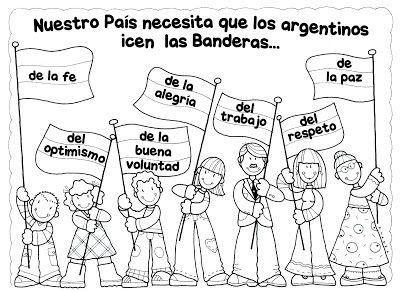 Día De La Bandera Manualidades Y Diseños Bandera Argentina Día