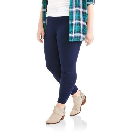 db9f90e3fc4 Faded Glory Women s Plus-Size Essential Knit Leggings (Base UPC  0880619233776)