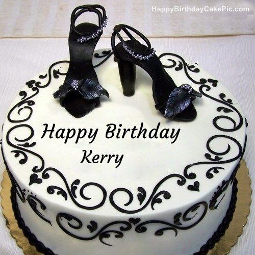write name on Fashion Happy Birthday Cake Kerry Pinterest
