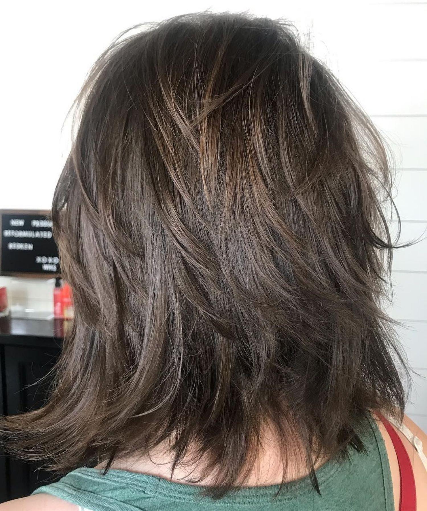 70 Best Variations Of A Medium Shag Haircut For Your Distinctive Style Modern Shag Haircut Medium Shag Haircuts Shag Haircut