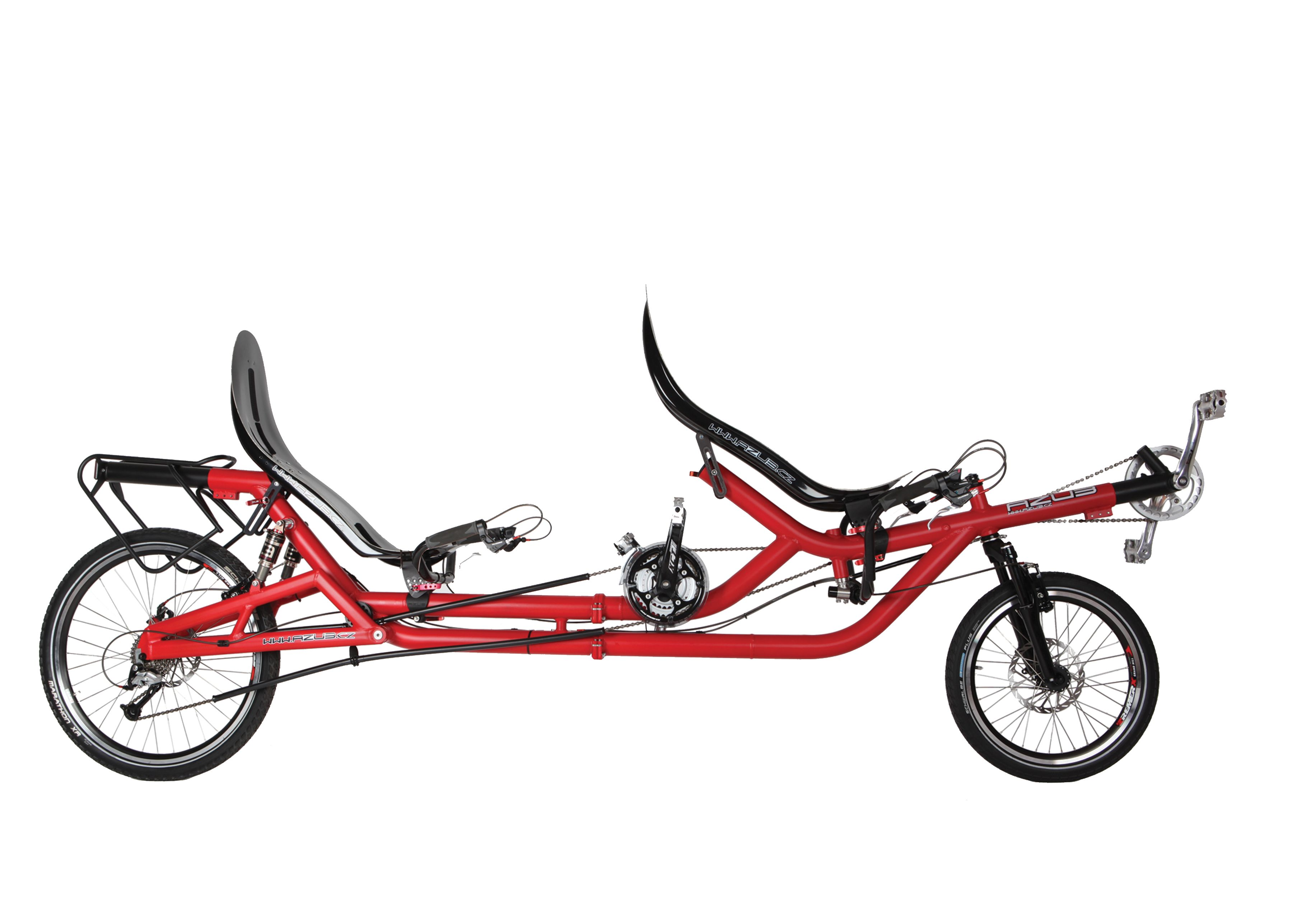 Azub Twin Recumbent Tandem Do You Like To Do Things Togedher Or You Fell In Love Try Me Recumbent Bicycle Bike Tandem Bike