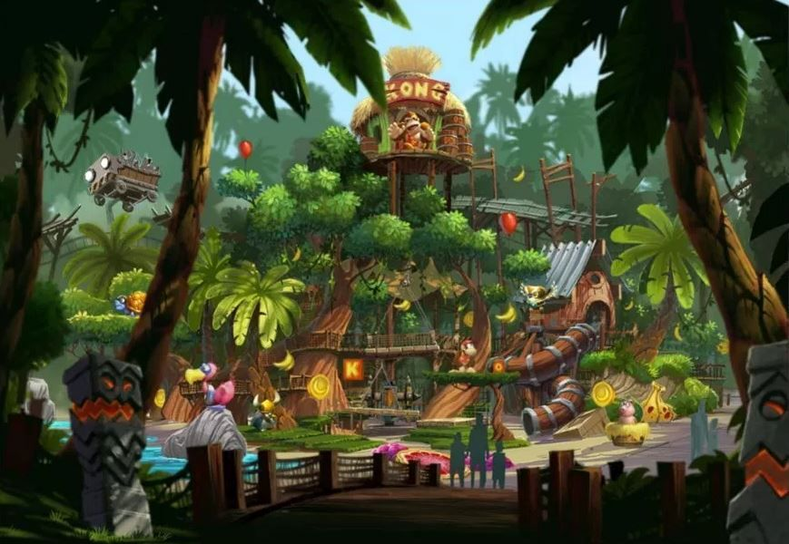 Nintendo Theme Park Features Zeldas Kingdom Super Mario