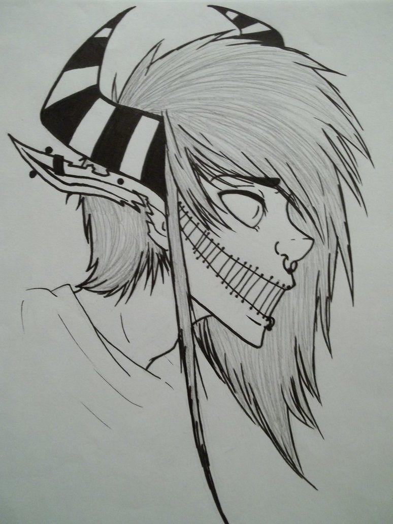 Horror Drawings Easy : horror, drawings, Scary, Drawings, Related, Keywords, Drawings,, Creepy, Demon