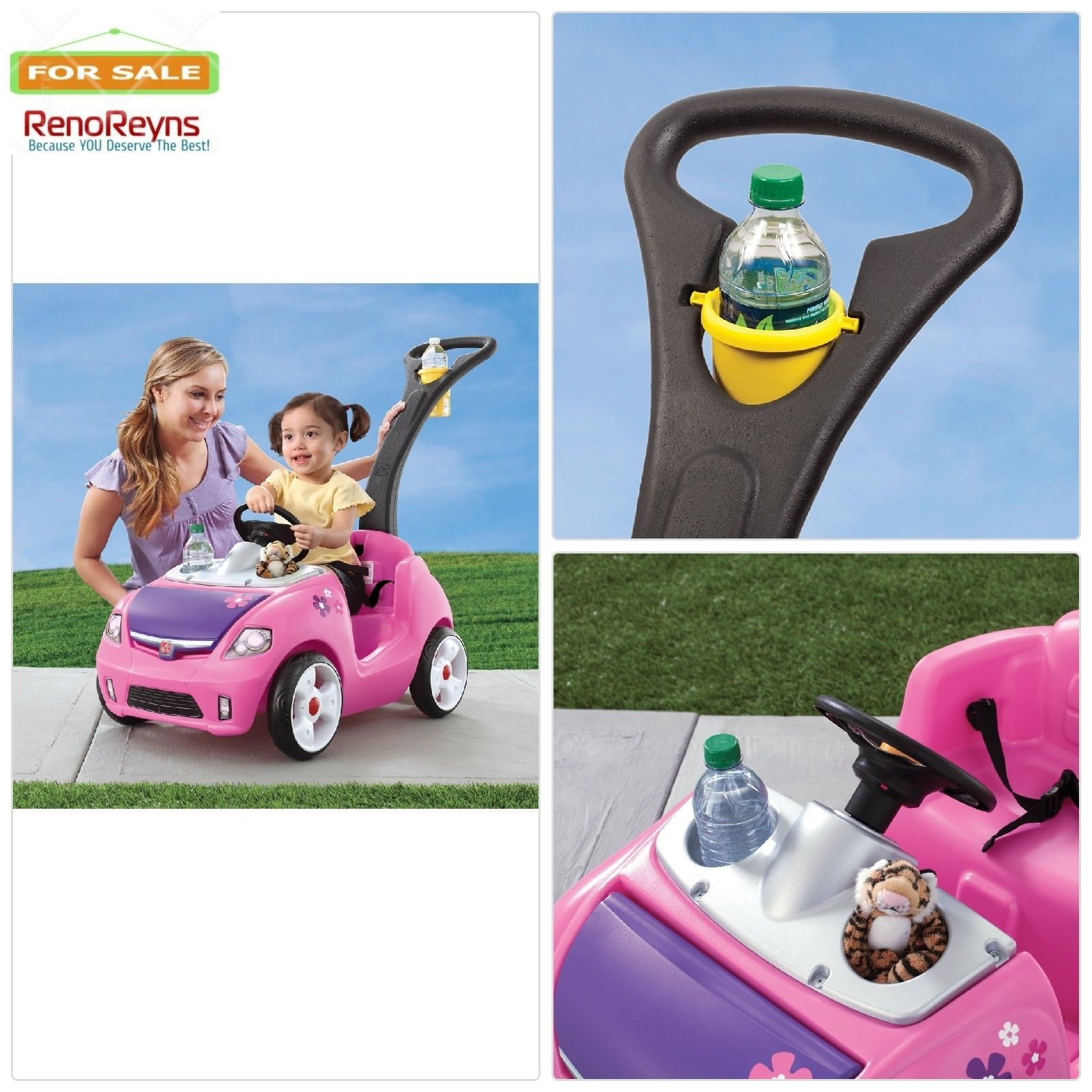 Child toys car  Electric Cars For Kids To Ride On Children Toys Pink Car Drive Girls