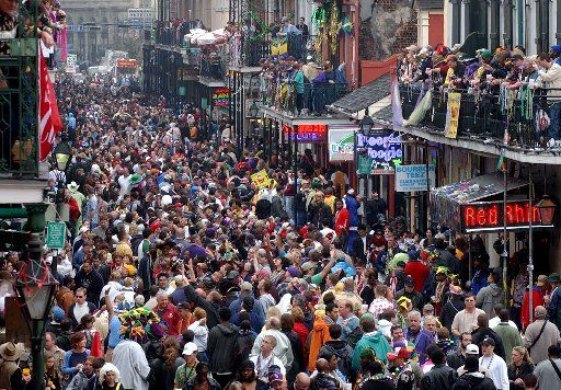 New Orleans, Louisiana...Mardi Gras!