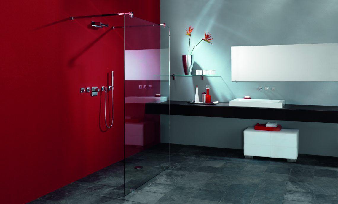 Glazen Wand Badkamer : Wenthec glas glazen wand in luxe badkamer hoog □ exclusieve
