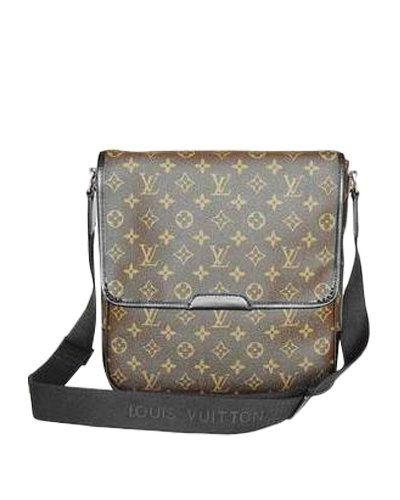 b320237c31b9 Louis Vuitton Monogram Canvas Messenger Flap Bag M57624 Monogram Canvas