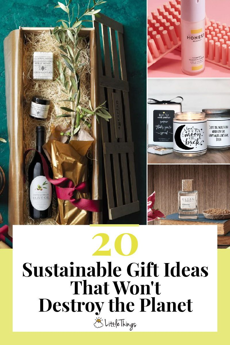 20 Sustainable Gift Ideas That Won T Destroy The Planet