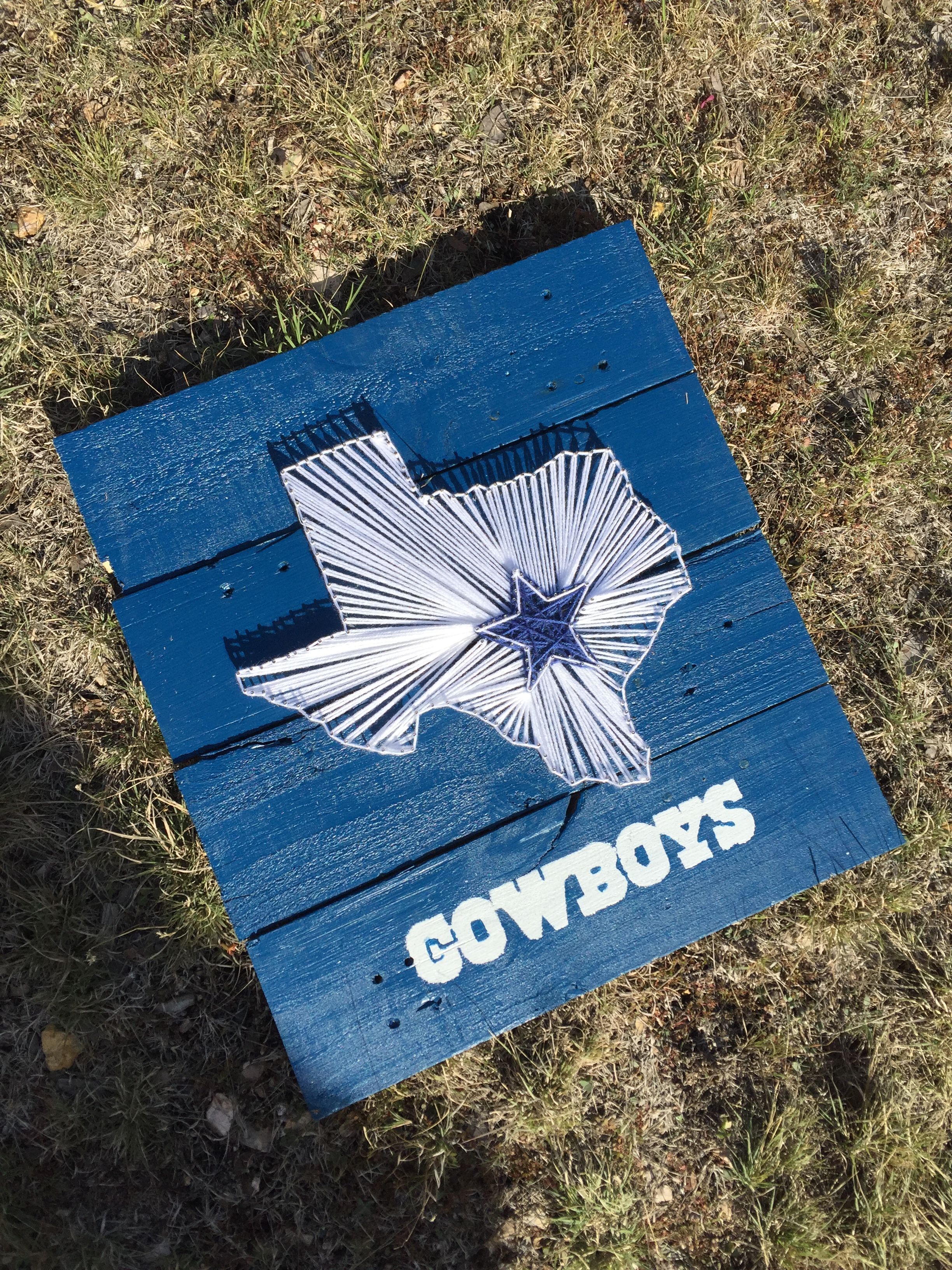 Dallas Cowboys Folding Chairs Zebra Print String Art Made From Upcycled Pallets