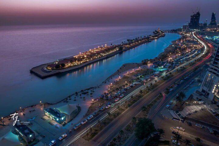 هيئة السياحة والتراث من مدينة جدة وإطلالة رائعة على البحر الأحمر عدسة تركي الجدعاني جدة City Jeddah Natural Landmarks